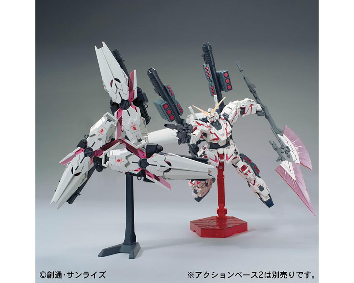 1//144 NEW BANDAI HG 1//144 Full Armor Unicorn Gundam Destroy mode  Red color Ver
