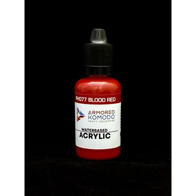 PH077 Blood Red Waterbased acrylic