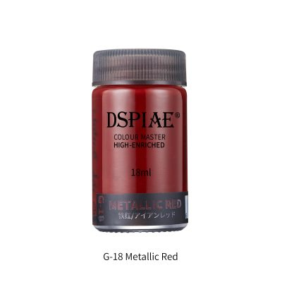 DSPIAE G-18 metallic red 18ml