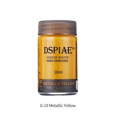 DSPIAE G-19 Metallic Yellow 18ml
