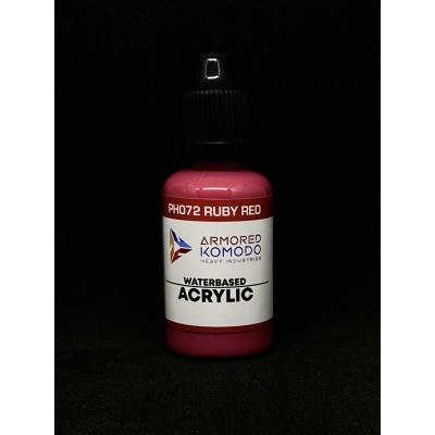 PH072 Ruby Red Waterbased acrylic