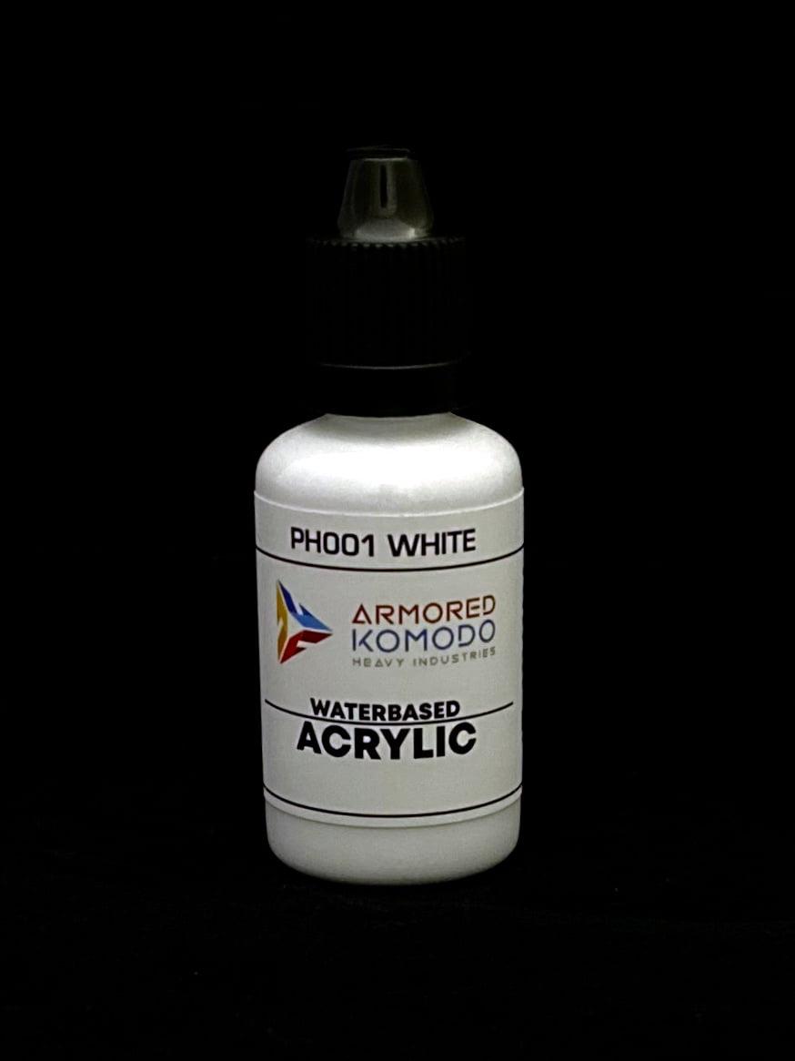 Flacon PH001 WHITE Waterbased acrylic