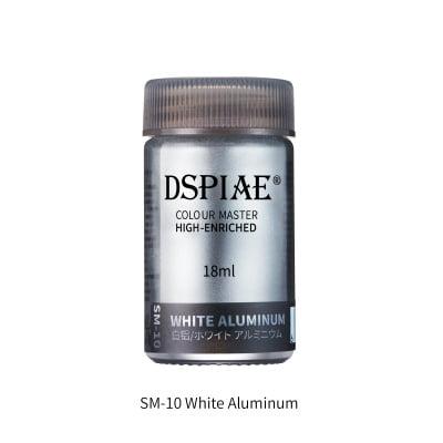 Super Metallic SM-10 white aluminium