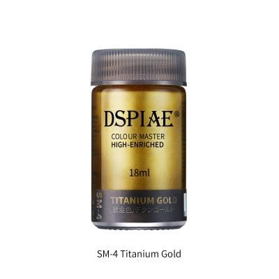 Super Metallic SM-4 titanium gold