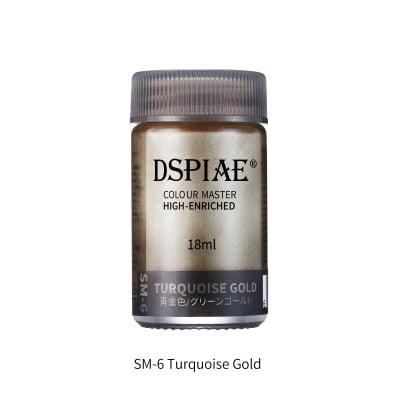 Super Metallic SM-6 turquoise gold