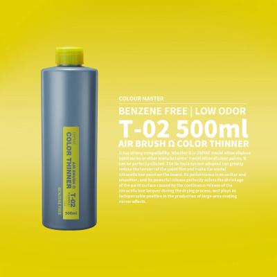 t-02 airbrush omega paint thinner