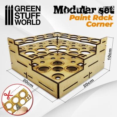 presentoir modulaire coin