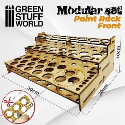 Présentoir Modulaire pour Peinture - FRONTAL