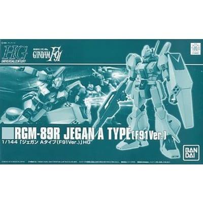 HG RGM-89R JEGAN A TYPE(F91Ver.) box art