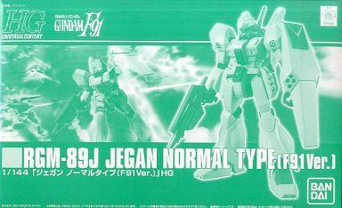 HGUC 1/144 RGM-89J JEGAN NORMAL TYPE F91 VER. box art