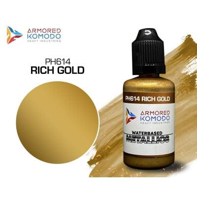 arkom_waterbased_metallics_PH614 rich gold