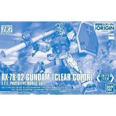 HGGTO 1/144 RX-78-02 Gundam The Origin Ver. [Clear Color]