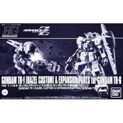 HGUC 1/144 GUNDAM TR-1 (HAZEL CUSTOM) & EXPANSION PARTS FOR GUNDAM TR-6